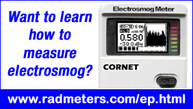 Learn how to measure electrosmog using RF and LF meters