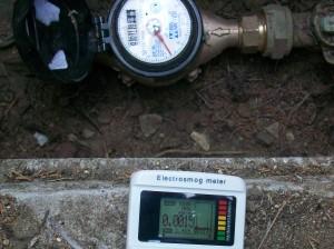 Smart Water Meter Spike 2 closeup