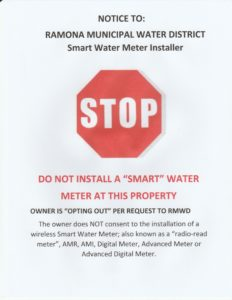 Smart Meter Opt Out Letter.Sign To Opt Out Of Smart Water Meters Center For